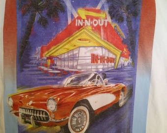 In-N-Out Burger Las Vegas Nostalgia White T-shirt - Size XL