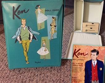 Vintage 1961 Ken Doll Case