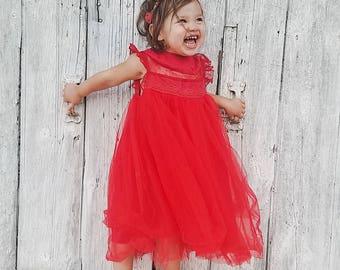 Toddler christmas dress   Etsy