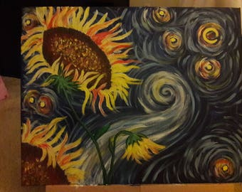 Sunflowers in the Sky