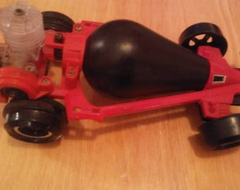 Vintage 1980s Tomy Air Jammer Air powered car incomplete