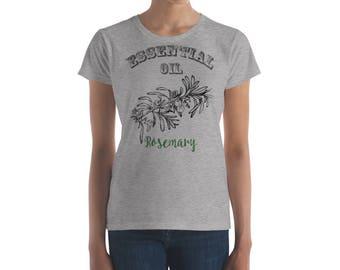 Essential Oil Rosemary Women's short sleeve t-shirt