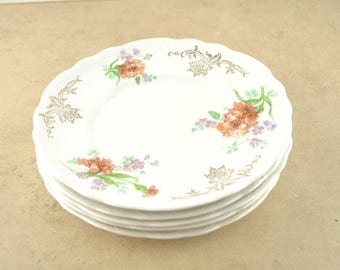 Homer Laughlin Hudson Set of 5 Plates