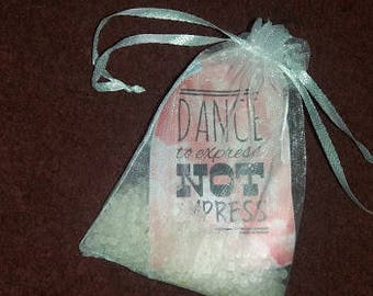 Destiny Dancewear rose bath salts