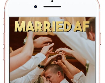 Wedding Snapchat Geofilter *for immediate download - not personalized* #10