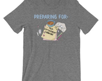 Preparing For Pre-Retirement Language Short-Sleeve Unisex T-Shirt | Preparing Taxes Over Coffee T-Shirt | The Pursuit of Minimal Fees T-Shir