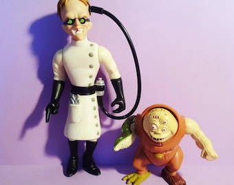 Biker Mice From Mars Dr. Karbunkel and Fred the Mutant Action Figures