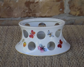 Ardalt Japan Hand Painted Porcelain Candle Holder