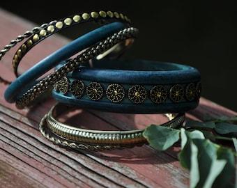 Boho Bangle Bracelets