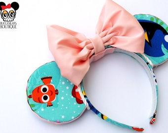 Finding Nemo Disney Ears    Dory Ears    Nemo Ears    Mickey Ears    Minnie Ears    Disney Ears