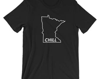 Minnesota Chill - Funny MN Cold Winter Novelty Gift Tees Short-Sleeve Unisex T-Shirt