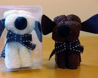 Cute Doggie Flannel - assorted colours