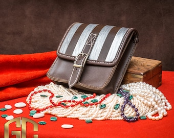 The Witcher Bag Triss Merigold geralt cosplay leather bag