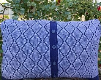 Novelty Cardigan Sweater Pillow