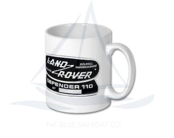 Land Rover Defender Badge 110 Mug, Defender, Truck, Defender Gift, Cars, Defender, Land Rover 90, Land Rover 110, Land Rover 130