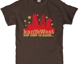 Rare Kanye West College Dropout The Truth Tour 2014 tee T shirt, yeezus Merchandise,