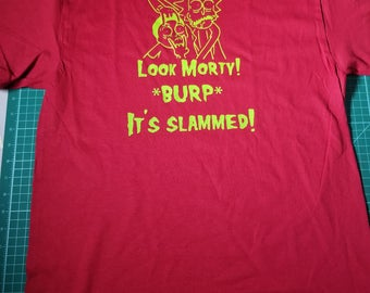 Rick and Morty SLAMMED shirt!