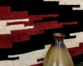 Vintage Small Ceramic Vase, Ceramic Vase, Small Bud Vase, Boho Vase, Southwestern Vase, Home Decor, Home & Living, Brown Vase, Vintage Vase