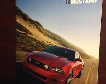 2014 Ford Mustang V6 GT Shelby GT500 U0026 More Dealership Brochure
