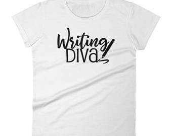 Writing Diva Women's Journalism Short Sleeve T-shirt