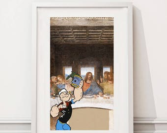 The Last Supper/Popeye