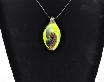 lamp Worked Glass Pendant