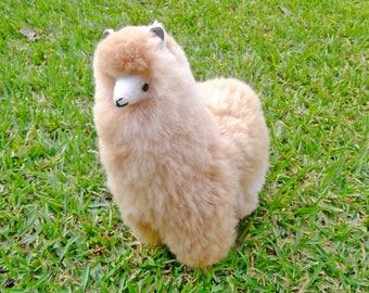 Fluffy Alpaca STUFFED Animals Soft Toys Handmade Cozy Gift Ideas Christmas Gift Unique