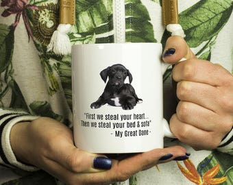 Great Dane Gift Mug - Dog Mug, Great Danes, Dog Lovers, Doggy Present, Great Dane Mug, Birthday, Gifts for Great Dane, Love Dog Gift