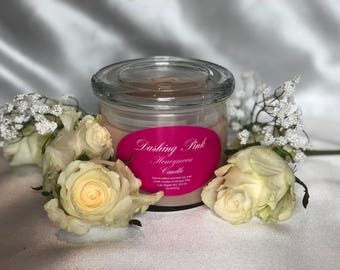 Honeymoon, Romance Candle, Popular Candle, 8 oz, 15 oz, Gift Idea, Hand poured, Soy Wax, Bridal Rose, Scented Candle
