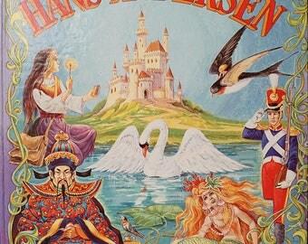 Vintage Hans Christian Anderson Fairy Tale Book