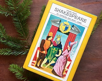 Vintage Book 'Tales From Shakespeare' by Charles and Mary Lamb / Classic Books