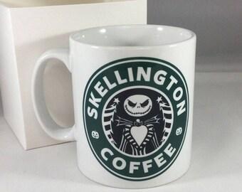 Skellington Coffee Mug - Nightmare before Christmas