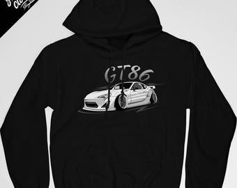 Toyota GT86 Hooded Sweatshirt