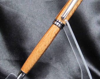 European Style Twist Ballpoint Pen in Zebrawood - Free Shipping!