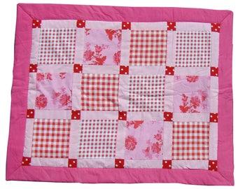 Handmade pink Children's blanket