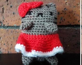 Mini Crochet Kitty - Santarina