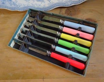 Art Deco butter knives