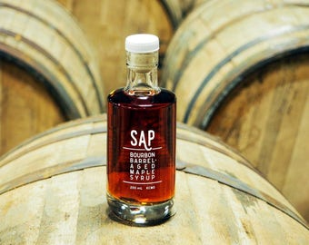 SAP: Bourbon Barrel-Aged Maple Syrup