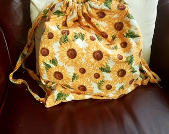 Drawsting Backpack