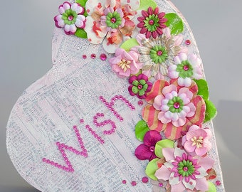 Wish - Mixed Media Collage