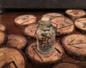 Little Bit O' Luck Spell Bottle/Vial-*Extra Small*