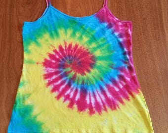 Hand-Made Tie-Dye Cami Tops