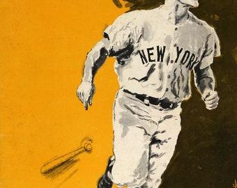 1965 NEW YORK YANKEES - Vintage Baseball Poster
