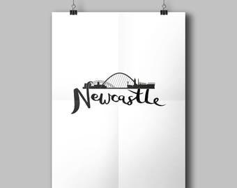Newcastle Print