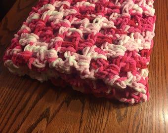 Chunky Crochet Baby Blanket