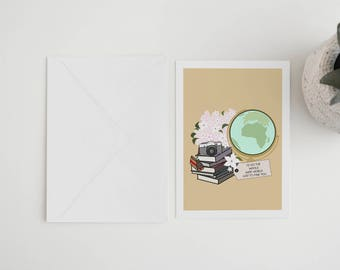 Whole Wide World - Valentine's Day Card
