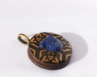 Mini Sodalite Pendant