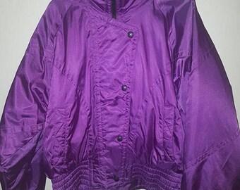 Vintage Snuggler ski puffer jacket -80's- new condition