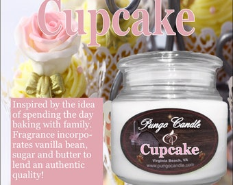 Cupcake Scented Jar Candle (16 oz.)!