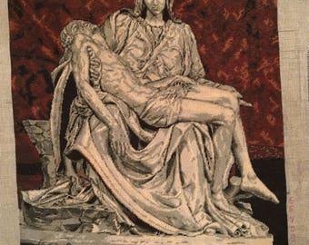 La Pieta after Michelangelo